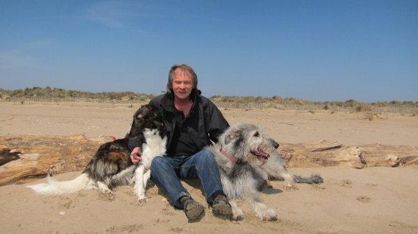 Entspannung mit Windhunden